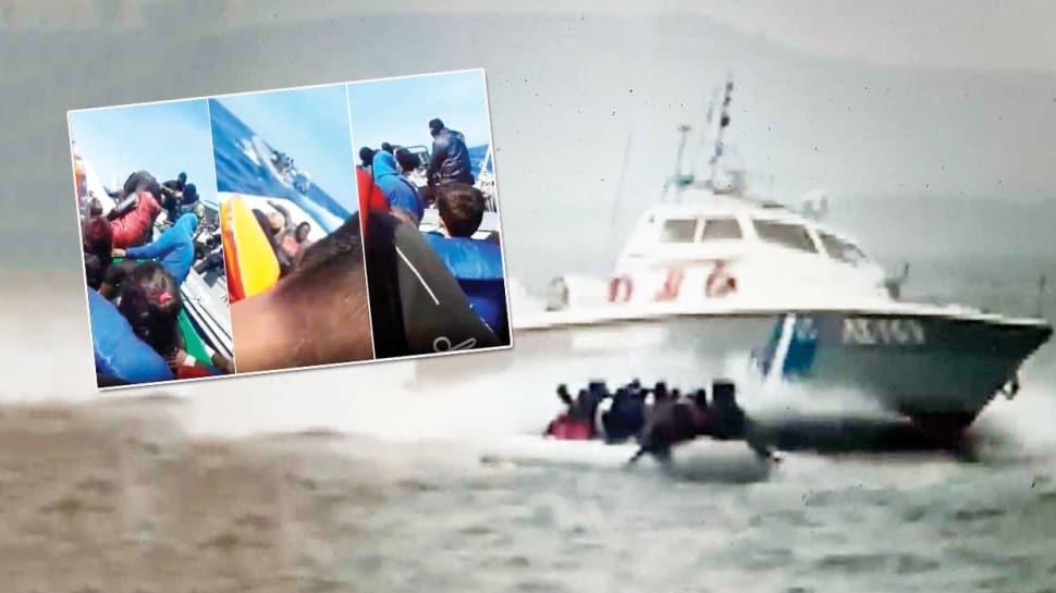 Yunan deniz terörü Alman basınında! Maskeli saldırganlar sığınmacıları itiyor