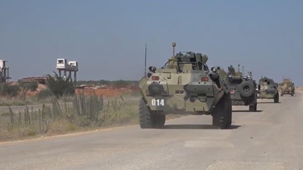 İdlib'de 19'uncu Türk-Rus kara devriyesi icra edildi