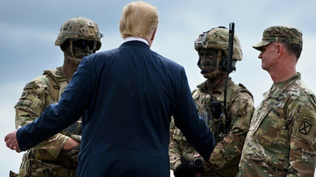 Pentagon, Almanya'dan asker çekme konusunda Trump'a brifing verdi