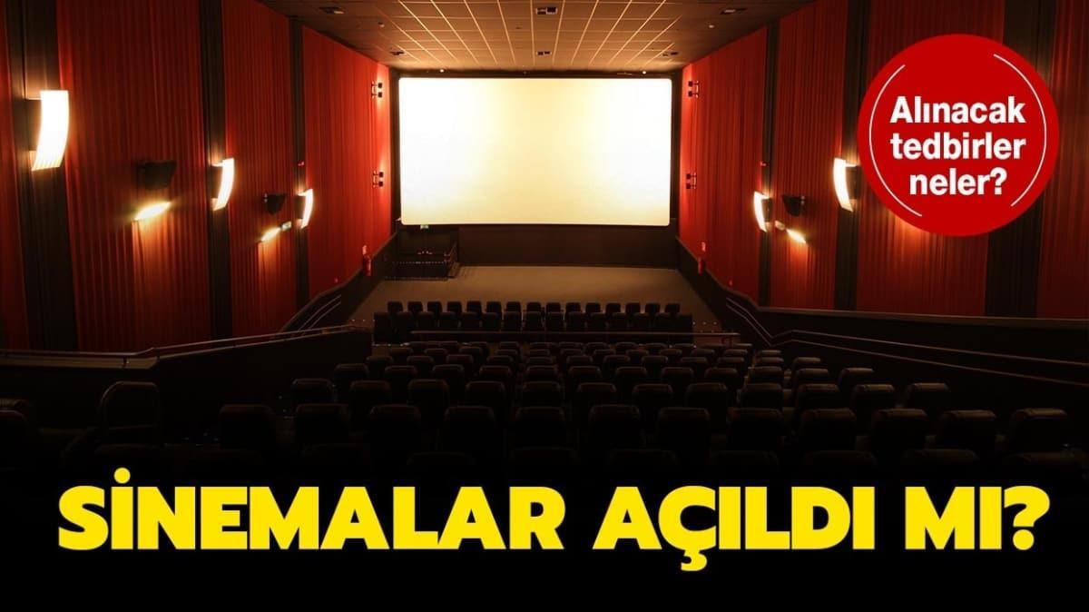 """Sinema salonları ne zaman açılacak"""""""