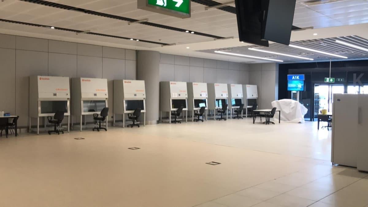 İstanbul Havalimanı'nda bir ilk: 2 saatte sonuç verecek