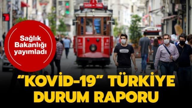 Sağlık Bakanlığı, 'Kovid-19' raporunu yayımladı