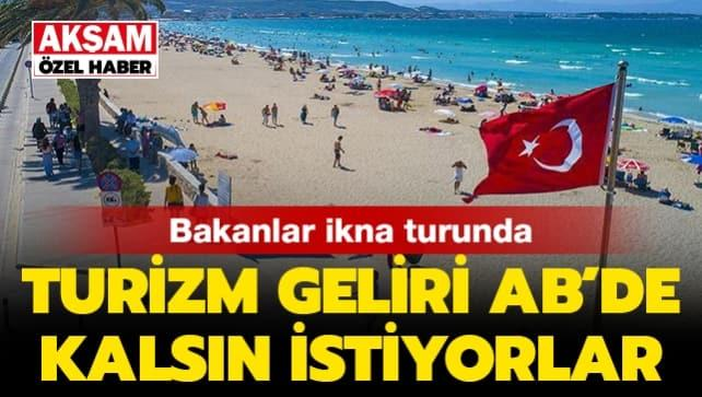 Ukrayna'dan ilk turist kafilesi Antalya'ya geldi