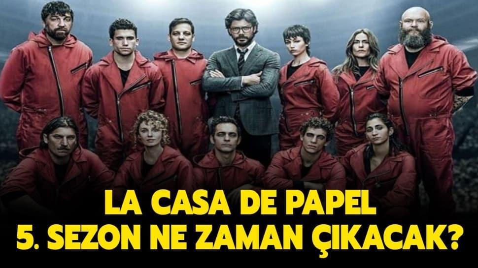 "La Casa De Papel 5. kısım tarihi belli oldu mu"""