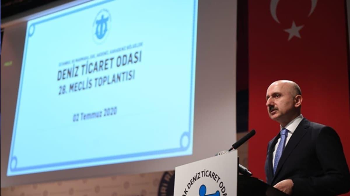 Bakan Karaismailoğlu: Deniz ticaretinin, dış ticaretimizdeki payını %290 arttırdık