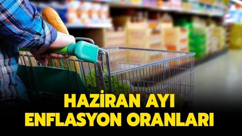 """TEFE TÜFE Haziran ayı enflasyon oranı ne oldu""""  Haziran ayı enflasyon oranları belli oldu!"""