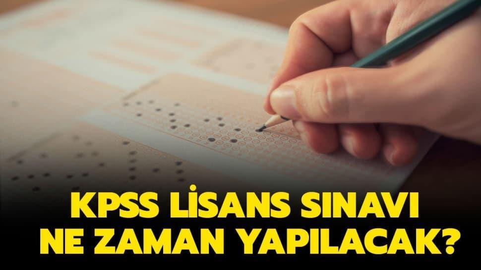 """2020 KPSS lisans sınav tarihi belli oldu! KPSS lisans sınavı ne zaman yapılacak"""""""