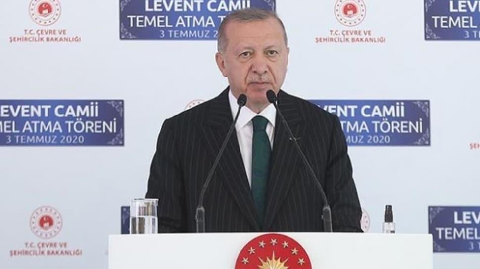 Başkan Erdoğan açıkladı! Levent'te yapımına başlanan caminin ismi belli oldu