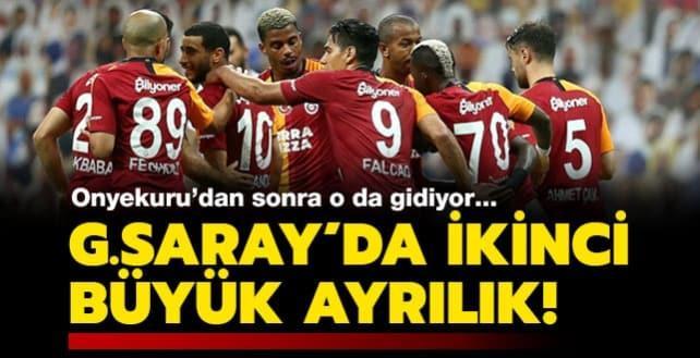 Galatasaray'da bir sürpriz ayrılık daha