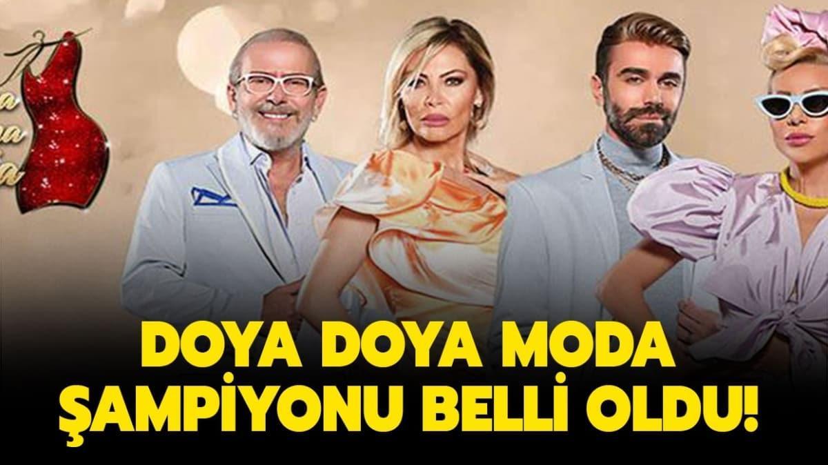 Doya Doya Moda sezon finali şampiyonu açıklandı!