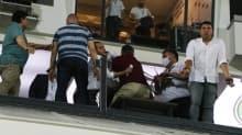 Yukatel Denizlispor - Gaziantep FK maçı sonrası saha karıştı