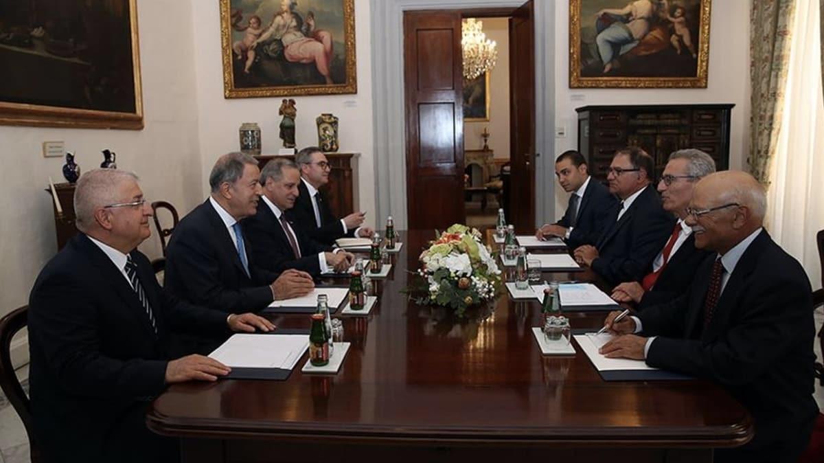Bakan Akar ve Orgeneral Güler Malta'da resmi ziyaretlerini sürdürüyor