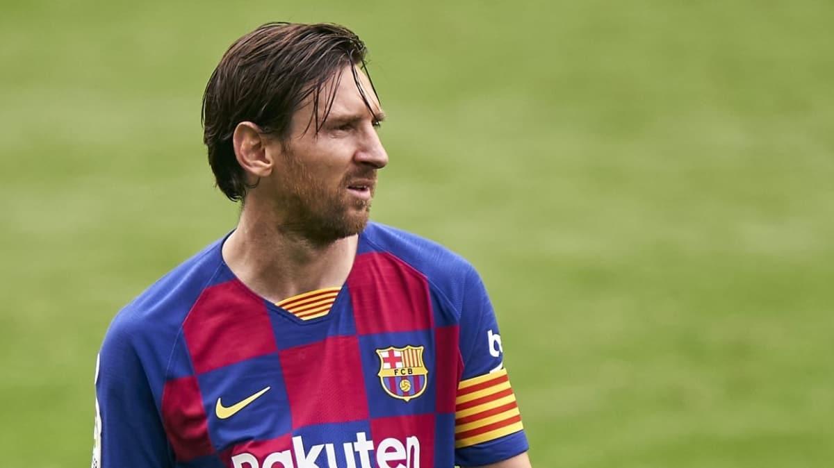 Barcelona'da Lionel Messi krizi patlak verdi
