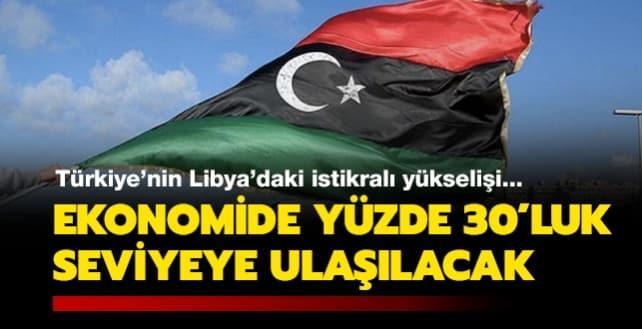 Türkiye'nin Libya'daki istikrarlı yükselişi... Ekonomide yüzde 30'luk seviyeye ulaşılacak