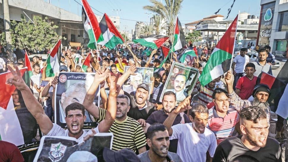 Gazze'de işgale dev protesto