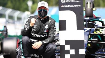 Formula 1'de sezonun ilk zaferi Valtteri Bottas'tan