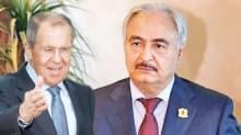 Rusya ve Hafter'den yakınlaşma adımları