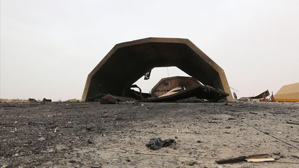 Libya'daki askeri üsse yapılan saldırı sonrası Türkiye'den ilk açıklama
