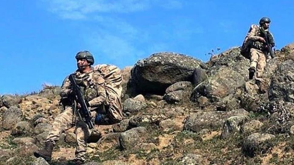 TSK, terör örgütü PKK'nın sözde 'özel kuvvetler kampı' Mervanis'i temizledi