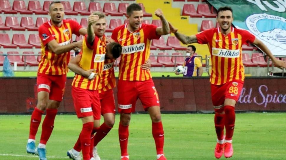 Kaleci Lung devleşti; HK Kayserispor, Beşiktaş'ı devirdi