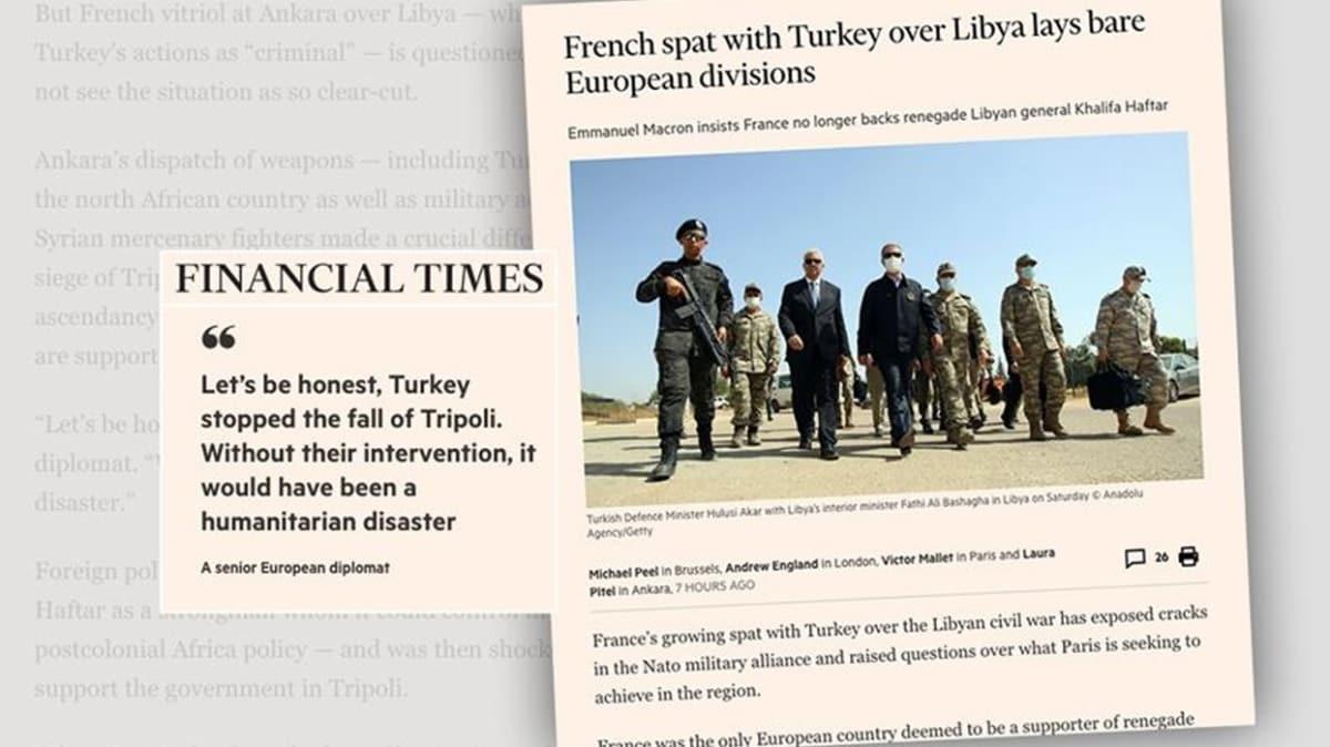 İngiliz Financial Times yazdı... Hafter Fransa için artık yük