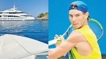 Şampiyona Göcek'te kaza şoku! Ünlü tenisçi Rafael Nadal'ın 'White' adlı süper lüks yatı kayalara çarptı