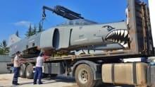 MSB: Hizmet dışı F-4E uçağı, eğitim faaliyetleri için liseye hibe edildi