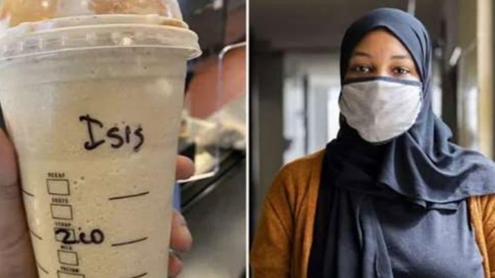 ABD'de İslamofobik saldırı... Müslüman kadının aldığı kahvenin kabına terör örgütünün adı yazıldı!