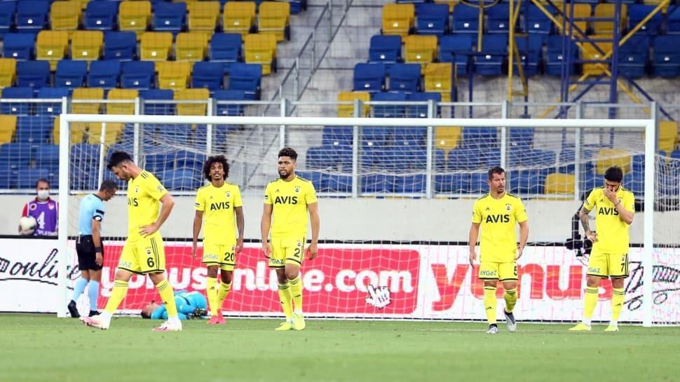Fenerbahçe'ye kaptan da yetmedi: 1-1