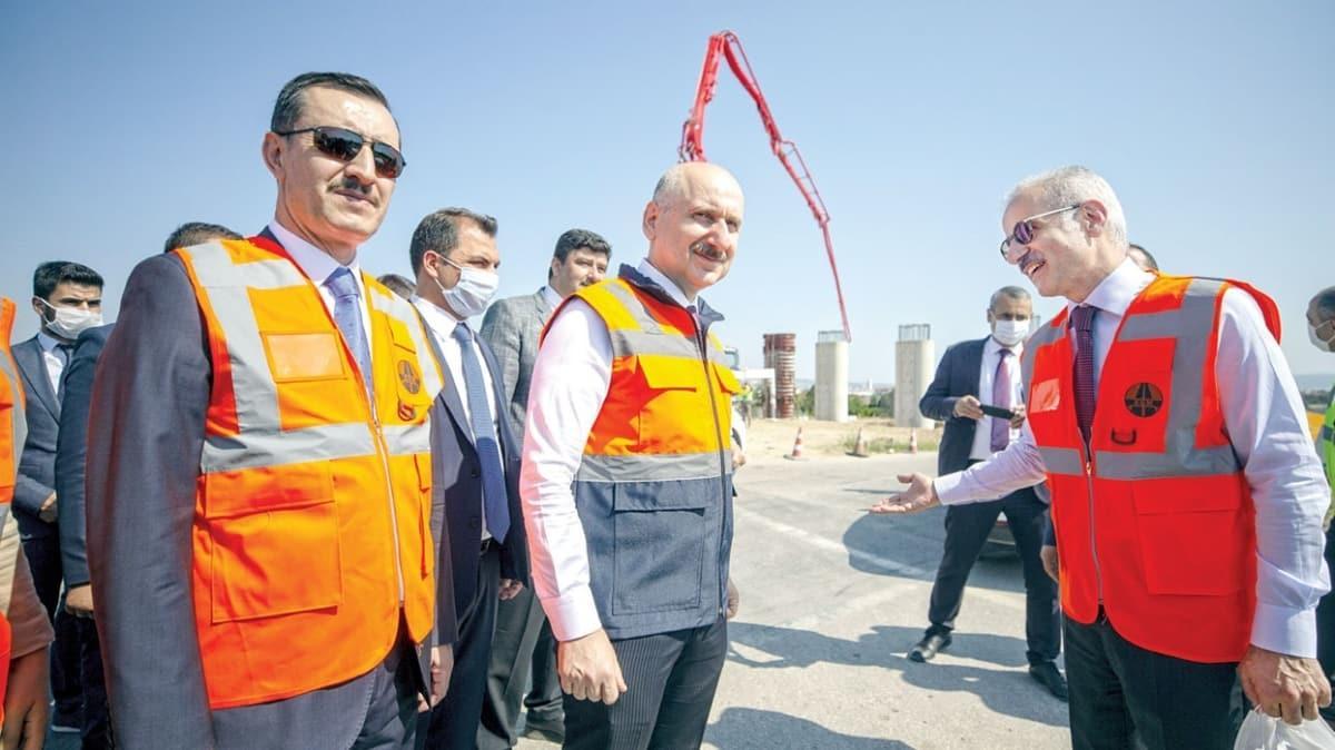 Ankara-Niğde Otoyolu'nun ilk etabı ağustosta açılıyor