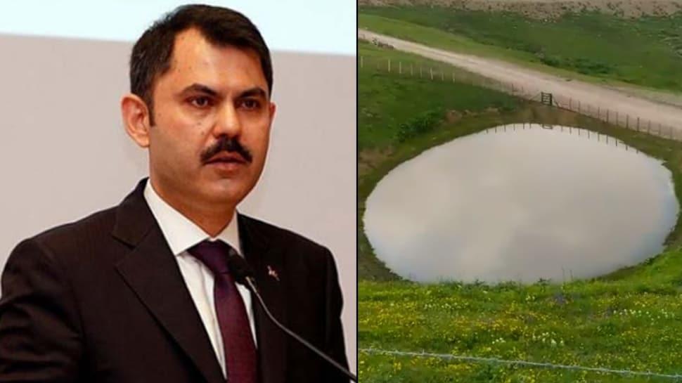 Bakan Kurum paylaştı... 'Bu video bugün Gümüşhane Dipsiz Göl'de çekildi'