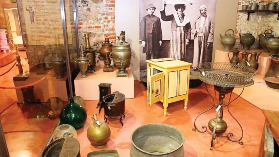 İlk buzdolabı Milli Saraylar Müzesi'nde