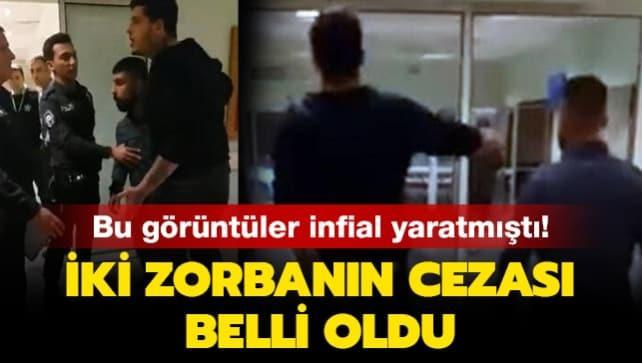 Polise saldıran 2 zorbanın cezası belli oldu