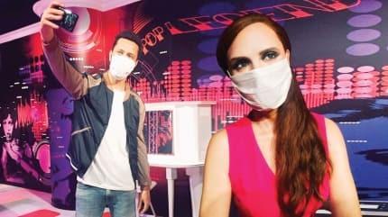 Madame Tussauds İstanbul yeniden açılıyor! Balmumu figürler ilk gün maskeli