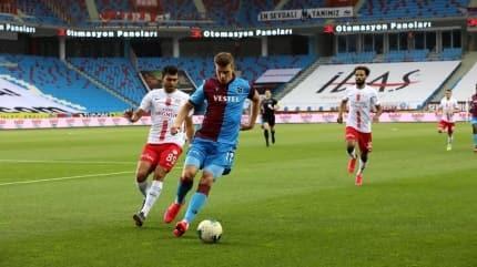 Trabzonspor kendi sahasında cehennemi yaşıyor