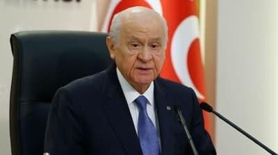MHP lideri Bahçeli: Bugün tarihi bir gün olarak tezahür etmiştir