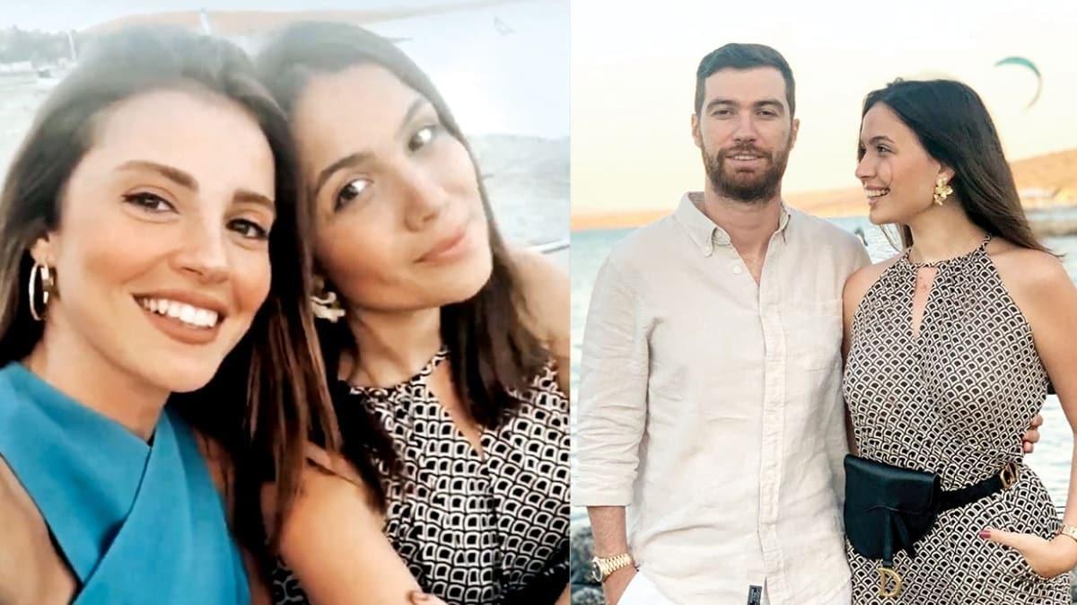 Oğulcan Engin ile evlilik yolunda olan Ezgi Eyüpoğlu'ndan müstakbel görümce Elif Engin'e tebrik