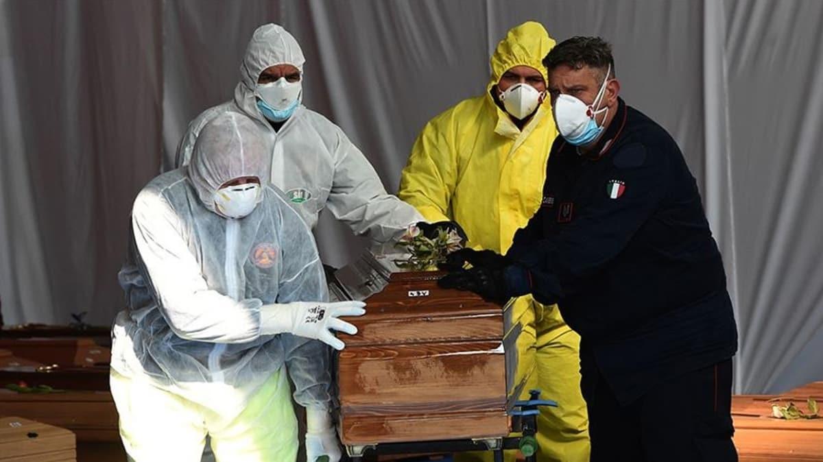 İtalya'da koronavirüsten ölenlerin sayısı 34 bin 938'e yükseldi
