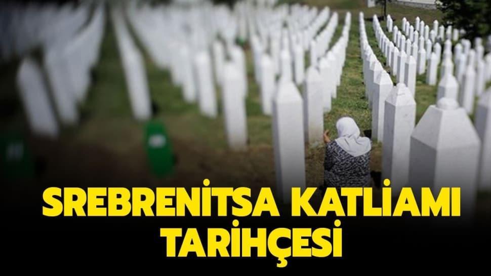 """Srebrenitsa Katliamı nedir"""" 11 Temmuz Srebrenitsa Katliamı tarihçesi"""