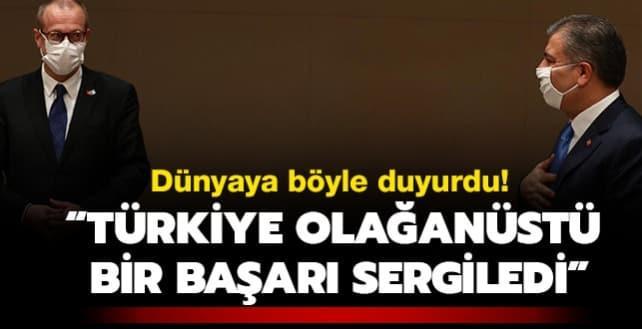Dünyaya böyle duyurdu: Türkiye'nin başarısı olağanüstü!