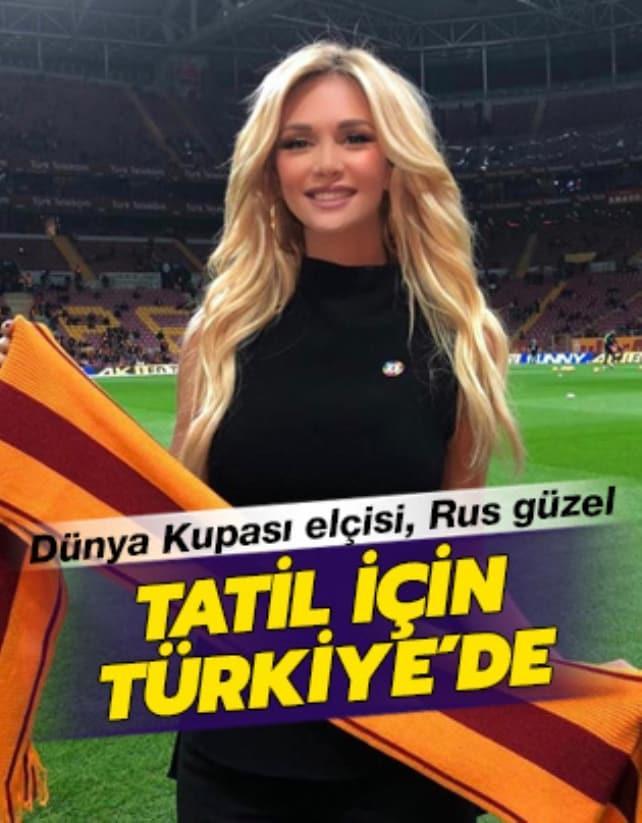 Dünya Kupası elçisi tatil için Antalya'ya geldi