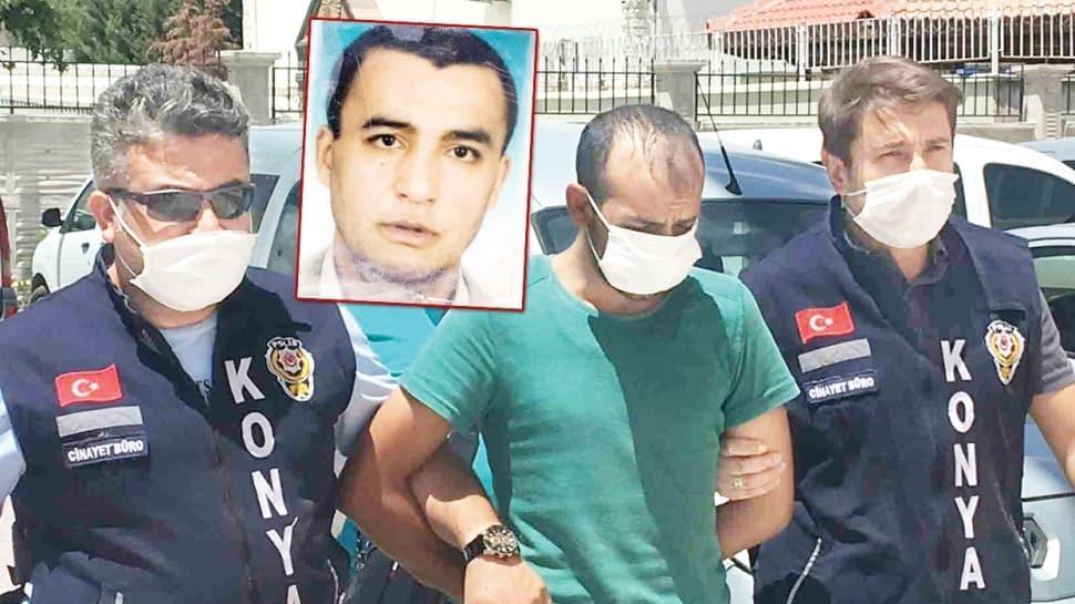 Engelli Mehmet katilinden kaçamamış