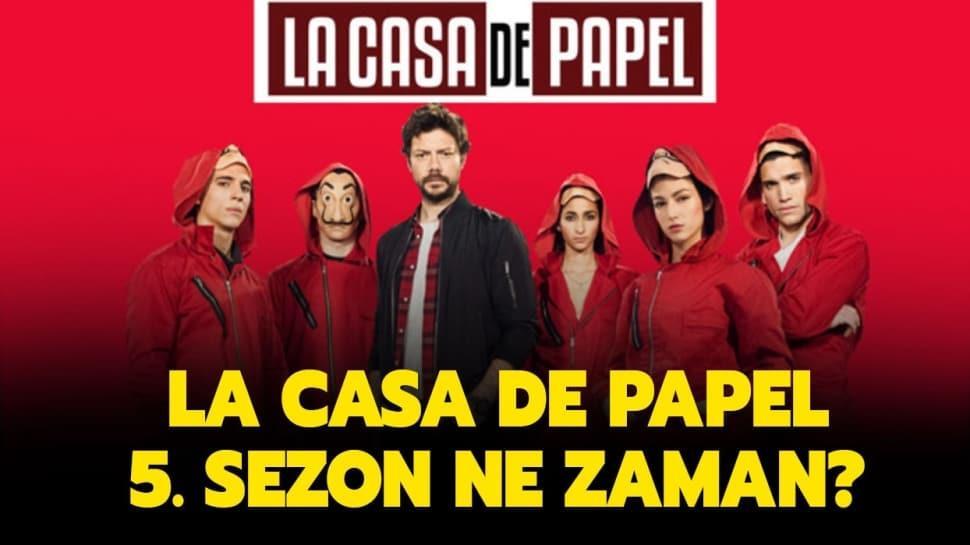 "La Casa De Papel yeni sezon olacak mı"""