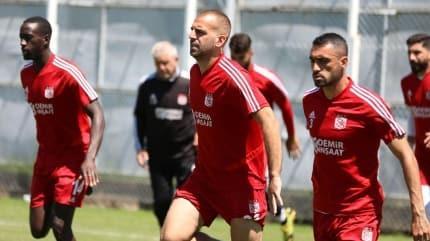 Sivasspor'da Fenerbahçe maçı hazırlıkları tamamlandı