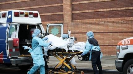 ABD'de Kovid-19 nedeniyle 851 kişi daha öldü