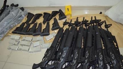 Hakkari'de çok sayıda silah ele geçirildi!
