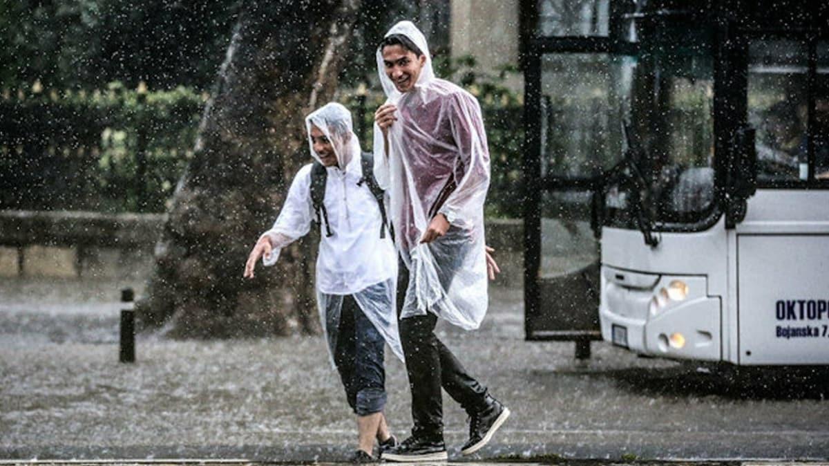Meteoroloji 5 il için uyardı: Sel ve fırtınaya dikkat