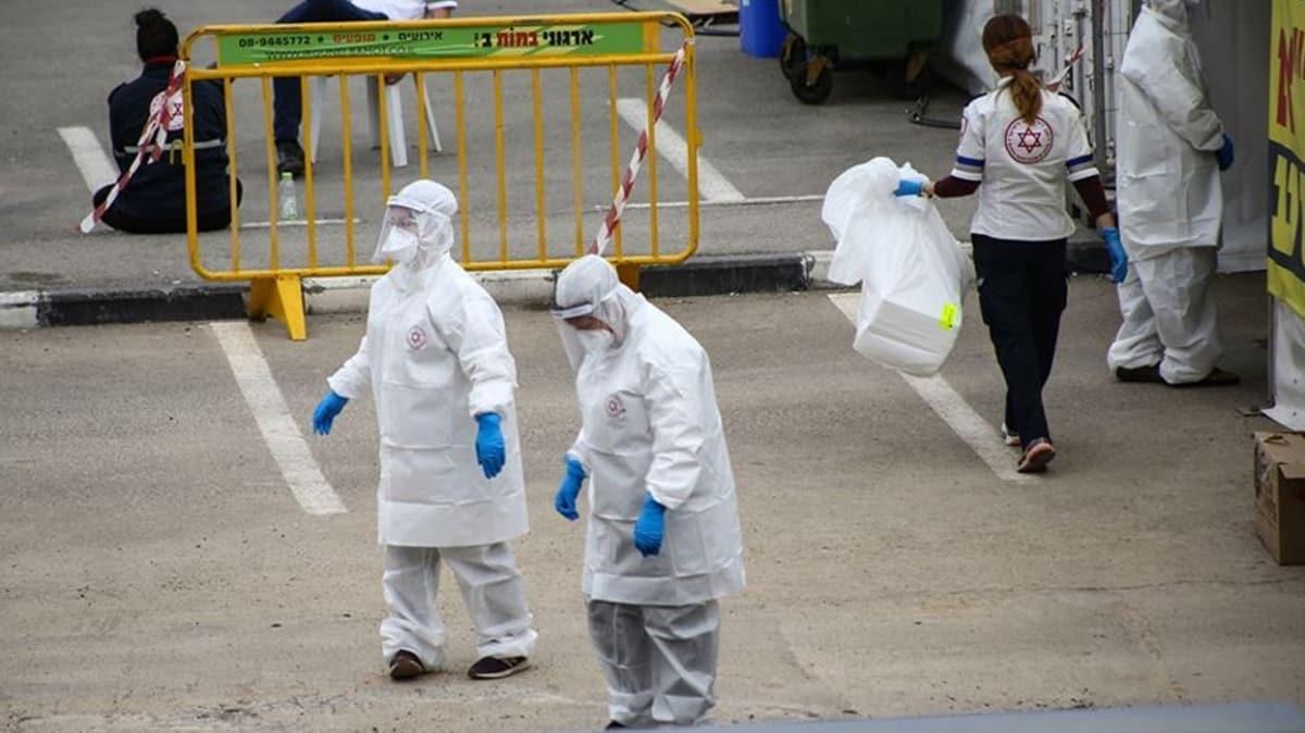 İsrail'de koronavirüs vaka sayısı 36 bini aştı!
