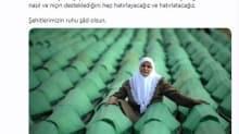 İbrahim Kalın'da Srebrenitsa Katliamı mesajı