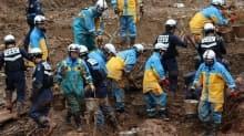 Japonya'da sel ve heyelandan 63 kişi öldü